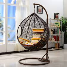 Hanging Chair Outdoor Furniture Outdoor Wicker Swing Chair Fun And Comfortable Furniture
