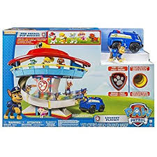 amazon paw patrol lookout tower 6 pup figures