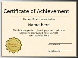 ms powerpoint certificate template free diploma certificate