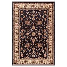 Concord Global Area Rugs Shop Concord Global Valencia Black Indoor Area Rug