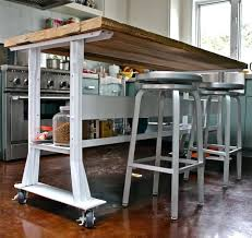 wheels for kitchen island kitchen islands on wheels mydts520