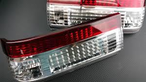 nissan 350z tail lights p2m toyota ae86 gts corolla 2pcs crystal rear tail light kit led