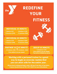 Ymca Of South Florida Personal Training 2016 Flyer Ymca