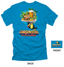 margaritaville cartoon cheeseburger in paradise t shirt margaritaville caribbean