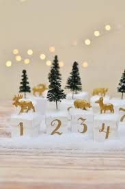 countdown to christmas diy your own woodland advent calendar
