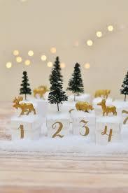 countdown to halloween calendar countdown to christmas diy your own woodland advent calendar