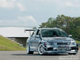 mitsubishi evo 9 wallpaper hd 2006 mitsubishi evo ix mr hanging with the big boys photo