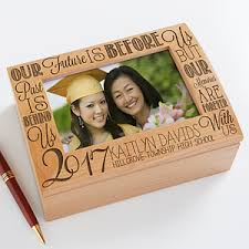 graduation memory box personalized photo keepsake box graduation memories