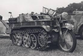 vw schwimmwagen found in forest nsu kettenkrad motorcycle tank wwii history pinterest