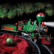 big train christmas train set herrington catalog