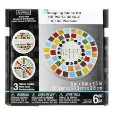 round stepping stone kit by artminds 8