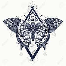 butterfly celtic style mystical symbol of freedom