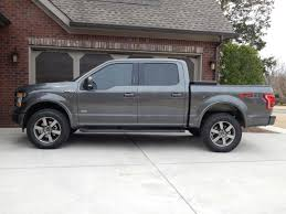 33 inch tires with no 2015 f150 ecoboost lift and tires