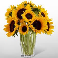 sunflower bouquet the ftd golden sunflower bouquet by vera wang judy s flowers