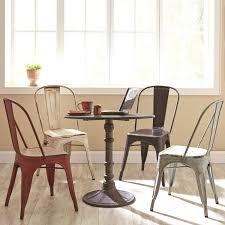Black Metal Chairs Dining Oswego Black Metal Chair Set Of 2 For 169 94 Furnitureusa