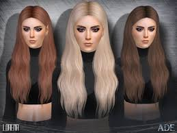 sims 4 hair cc ts4 female hair tumblr