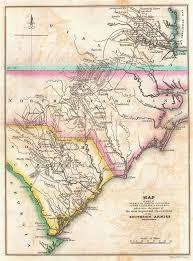 map of virginia and carolina map of part of virginia carolina south carolina