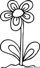 coloring flower pages virtren com