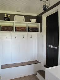 Entryway Bench And Storage Shelf With Hooks Cubby Bench And Storage Shelf W Hooks Do It Yourself Home Hide