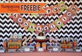 amanda s to go free thanksgiving printables