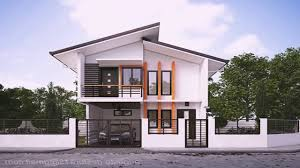 simple house designs and floor plans in the philippines youtube