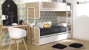 chambre garçon lit superposé lit superposé adolescent et enfant spiral ma chambre d enfant