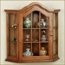 Kitchen Cabinet Corners Curio Cabinet Frightening Wall Curio Cabinets Cheap Picture