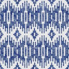 vector geometrical abstract seamless ikat pattern from decorative