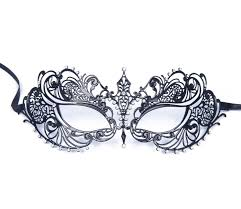 masquerade masks for prom luxury women s laser cut thin metal venetian pretty beauty