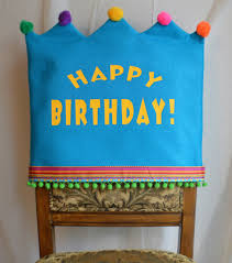 birthday chair cover happy birthday chair cover by joyfulldelights on etsy etsy finds