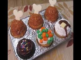 how to make thanksgiving dinner cupcakes cakes