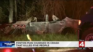 halloween city fenton mi man charged in livingston county crash which killed 5 has
