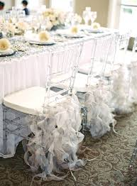 white tulle for wedding decorations silver tulle ruffles white