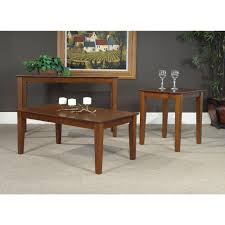 Kmart Kitchen Furniture Furniture 3pc Table Set Espresso Coffee Table Kmart Table And