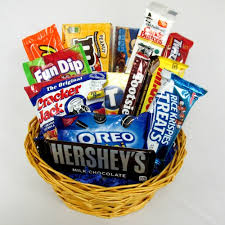 candy gift basket blast from the past candy gift basket