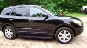 hyundai santa fe 2009 for sale used 2009 hyundai santa fe limited all wheel drive 4wd