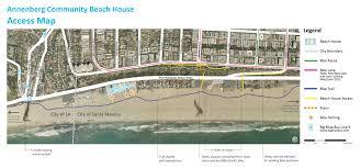 annenberg community beach house getting here u0026 parking