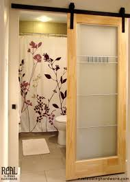barn door ideas for bathroom diy sliding barn door entertainment center