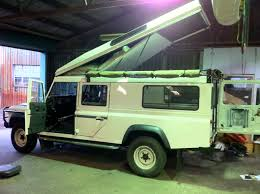 land rover discovery camping land rover defender 130 station wagon mulgo expedition vehicles