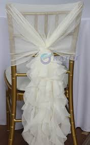 Champagne Chair Sashes Online Shop 150sets Peach Ivory Chiffon Wedding Fancy Ivory Red