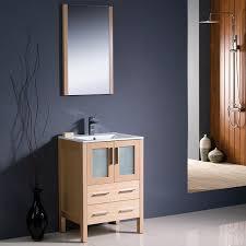 24 torino single bath vanity light oak with integrated sink