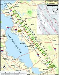 Sfsu Map Long U2010term Creep Rates On The Hayward Fault Evidence For Controls