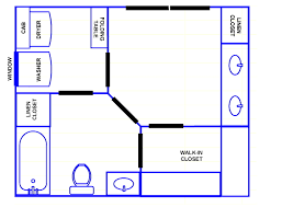 bathroom master plans with walk shower also brilliant master also shower and layouts closet bathroom