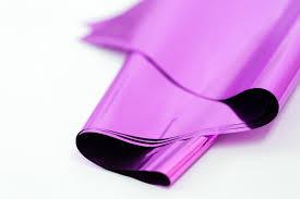 cello paper magenta purple mylar metallic magenta mylar tissue paper 10 sheets