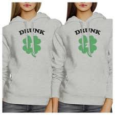 drunk1 2 bff matching hoodies pullover gift ideas