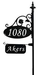Decorative Signs For Home by Best 25 Home Address Signs Ideas On Pinterest Diy House Numbers