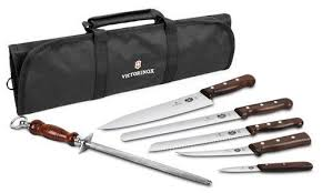 victorinox kitchen knives sale victorinox forshner rosewood handle knife set with fancy carrying