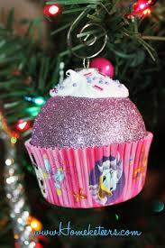 cupcake tree ornaments lights decoration