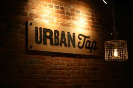 the urban tap interior exterior signage u2014 visionary effects