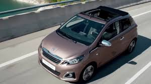 peugeot convertible 2016 the new peugeot 108 driving video video dailymotion